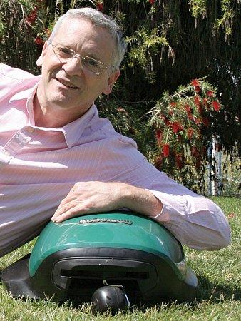 Udi Peless, zakladatel a výkonný ředitel společnosti Robomow.