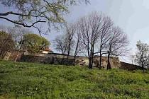 ZTRACENKA. Tak vypadala v úterý 14. dubna zahrada Ztracenka v Praze.