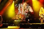 Ozzy Osbourne s přáteli vystoupil ve středu v O2 areně.