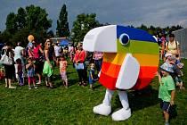 V pražském Centrálním parku na Pankrácké pláni se 31. srpna uskutečnil dětský den s ČT :D ku příležitosti zahájení vysílání.