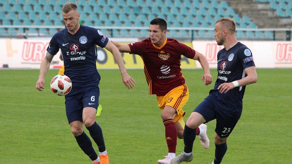 FORTUNA:LIGA Skupina o udržení FK Dukla Praha - 1. FC Slovácko 0:0