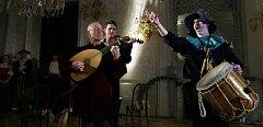 Představení barokní hudby a tance proběhlo 20. února v Pražském Clam-Gallasově paláci. Vysoupila taneční skupina Chorea Historica.