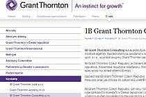 webové stránky Grant Thornton