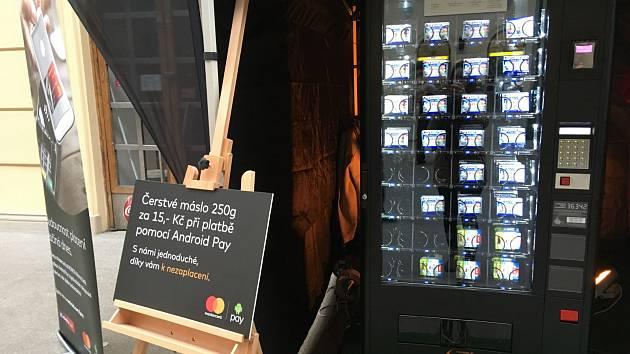 Máslo za 15 korun koupíte na Masarykově nádraží