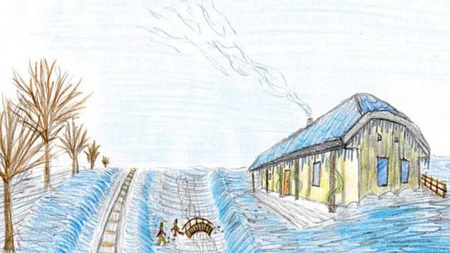 Kluci hrdinové. Jedna z ilustrací Janise Mahbouliho v knize Pohádky z nádraží.Autor: