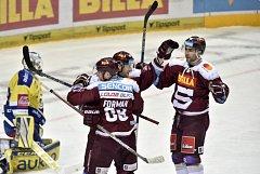 Hokejisté Sparty porazili Zlín.