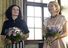 Sopranistka Simona Houda-Šaturová (vlevo) a mezzosopranistka Markéta Cukrová