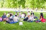 První letošní Veganský piknik ve Stromovce :)