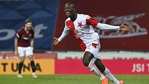 Slávistický fotbalista Abdallah Sima