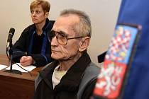 Jan Holman u soudu.
