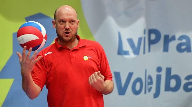 Trenér Lvů Tomáš Pomr.
