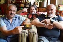 Muzikanti, kteří milují country: (zleva) Medard Konopík, Antonín Kny a Karel Mrkvička.