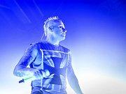 Z koncertu britské kapely The Prodigy.