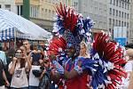 Z festivalu Sabor Latino Praha.