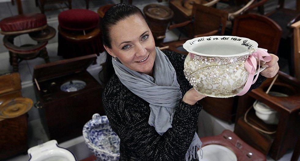 Muzeum nočníků – charitativní akce Nočníky pro Mathildu.