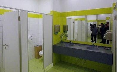 Toalety na Hlavním nádraží.