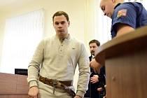 Obvodní soud pro Prahu 5 pokračoval v úterý 9. února 2016 v projednávání případu Radka Lipana, který podle obžaloby poléval ženy na pražském sídlišti vroucí vodou.
