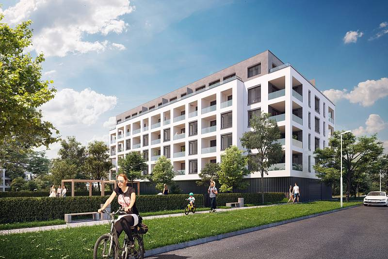 Kaskády Barrandov nabízejí i družstevní byty.