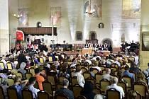 Bohoslužba v Betlémské kapli připomněla 602. výročí upálení církevního reformátora Jana Husa.