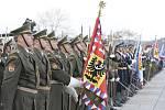 Oslavy 99. výročí vyhlášení státu v Praze na Vítkově.