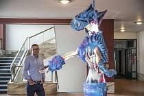 Podnikatel Martin Louda poskytl 13. listopadu 2020 v Praze v domu Radost rozhovor Deníku.