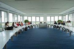 Setkání předsedů akademických senátů.