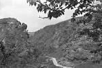 Přírodní rezervace Divoká Šárka v roce 1937.