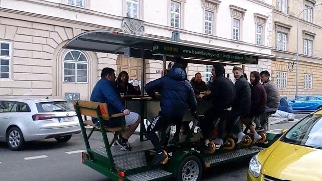 Pivní kola v Karlíně