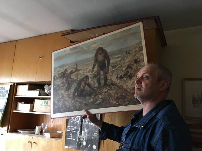 Autor Rychlých šípů obdivoval malíře Zdeňka Buriana