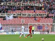 Zápas Zbrojovka Brno - Sparta Praha.