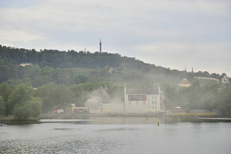 V Muzeu Kampa hořelo v technické místnosti.