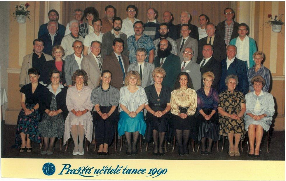 Pražští učitelé tance 1990.