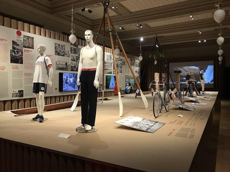 V rámci výstavy mohou zájemci spatřit například zlatou medaili judisty Lukáše Krpálka a jiné olympijské artefakty.