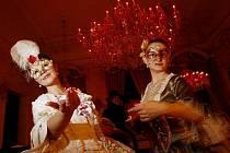 V Clam-Gallasově paláci v Praze byl zahájen pátý ročník pražského karnevalu.