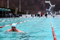 V Podolí se konalo Mistrovství ČR v zimním plavání v prsařském způsobu.