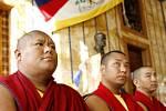 Týden tibetské kultury zahájila skupinka mnichů pančenlamova kláštera Tašilhunpo, která se setkala v pondělí 20. října s pražským primátorem Pavlem Bémem.