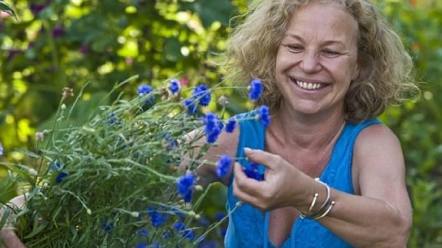 Květiny má Jana Vlková jako celoživotní koníček