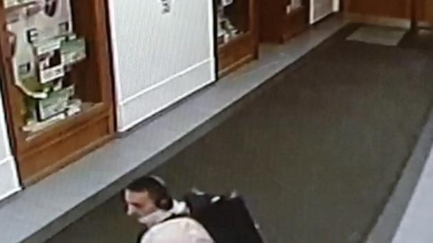 Muž podezřelý z krádeže v lékařské ordinaci
