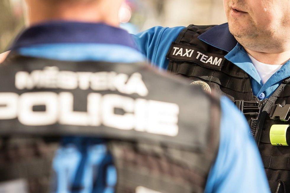 Práce městské policie. Ilustrační foto.