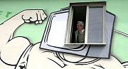 Na vlakové zastávce Na Knížecí byla v pondělí 14. května dokončena nástěnná malba Vrstvy slov,realizovaná skupinou streetartových umělců, při příležitosti šestého ročníku Noci literatury 2012.