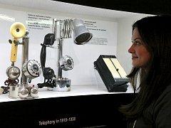 Výstava Člověk a telefon.