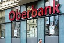 Pobočka Oberbank na náměstí I. P. Pavlova v Praze.
