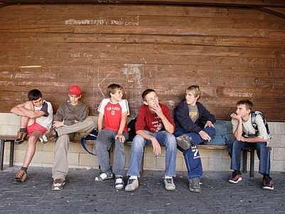 Nevinné děti, snadná oběť./Ilustrační foto