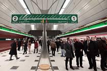 Linka A pražského metra. Ilustrační foto.