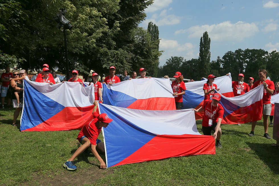 Z Olympijského festivalu v pražské Stromovce v pátek 23. července 2021.