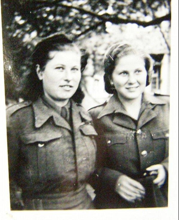 Sestry Vanda a Věra.