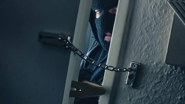 Vloupání do bytu. Ilustrační foto.