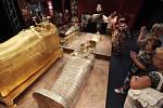 Výstava Tutanchamon – jeho hrob a poklady na Výstavišti Holešovice.