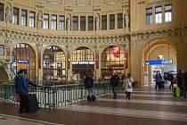 Hlavní nádraží.