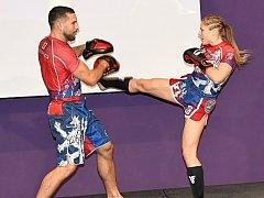Kickboxerka Sandra Mašková.